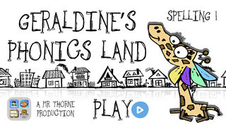 Geraldine's Phonics Land: Spelling 1