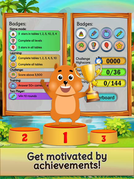 Times Tables and Friends, 1-12 App - 4