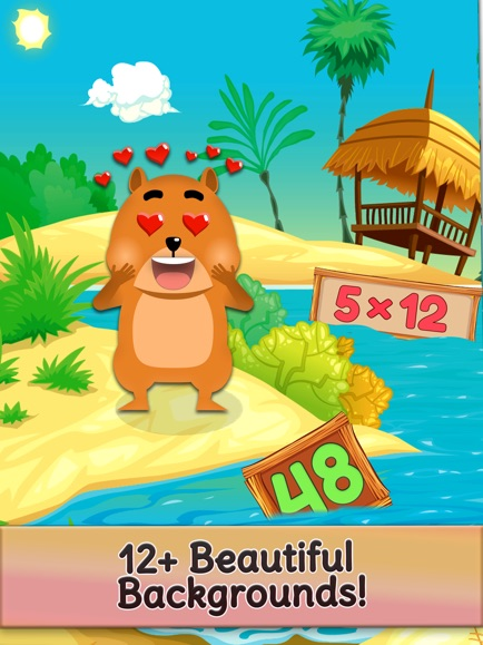Times Tables and Friends, 1-12 App - 5