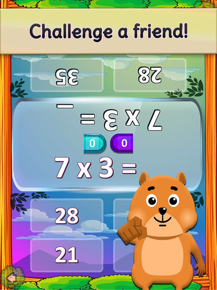 Times Tables and Friends, 1-12 App - 7