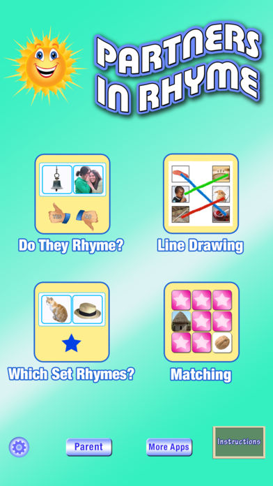 Partners in Rhyme - Rhyming for Phonemic Awareness App - 1