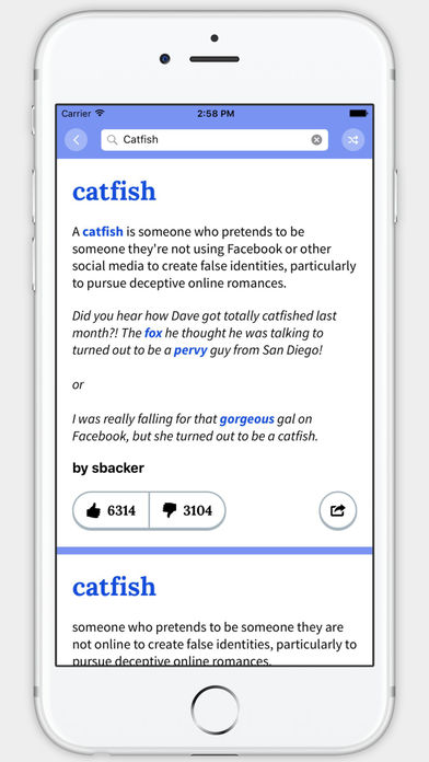 Urban Dictionary App - 3