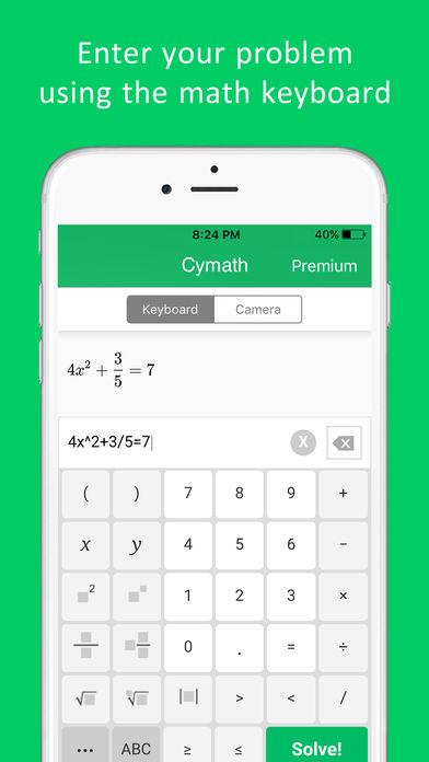 Cymath - Math Problem Solver App - 3