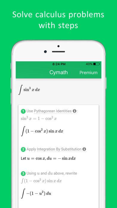Cymath - Math Problem Solver App - 5