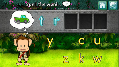 Monkey Word School Adventure App - 1