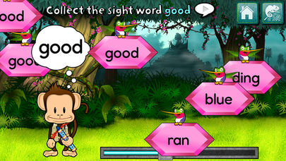 Monkey Word School Adventure App - 4