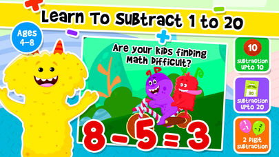 Addition and Subtraction Games App - 2