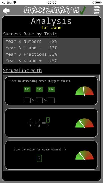 Max2Math App - 10