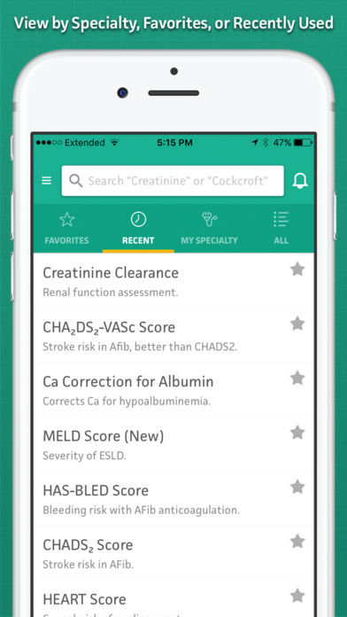 MDCalc Medical Calculator App - 1
