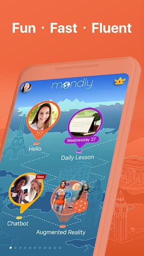 Mondly: Learn Hindi FREE - Conversation Course