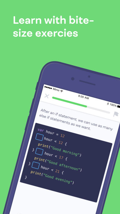 Mimo: Learn to Code App - 5