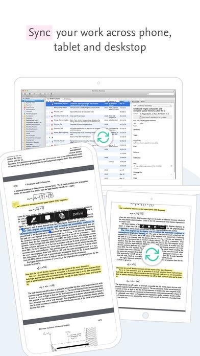 Mendeley (PDF Reader) App - 6