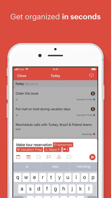 Todoist: Organize your life App - 1
