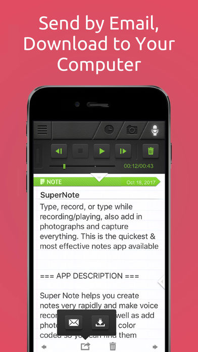 SuperNote Notes Recorder&Photo App - 4