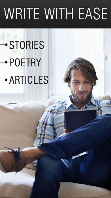Writer: Write A Book, write a story App - 1