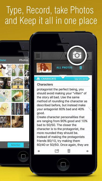 Writer: Write A Book, write a story App - 3