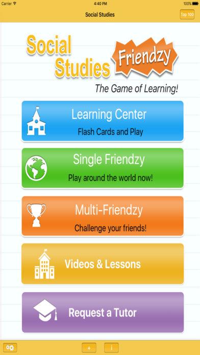 Social Studies Friendzy - K-8 Grade Social Studies App - 1