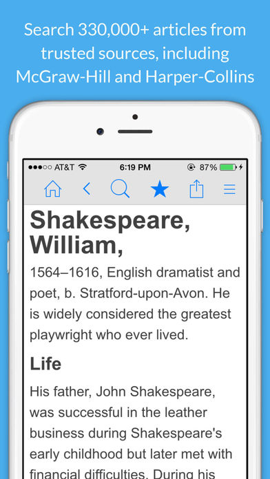 Encyclopedia of World Knowledge, Science & History App - 1