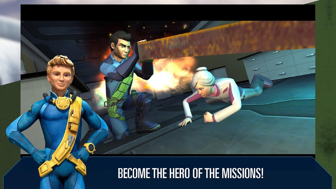 Thunderbirds Are Go: International Rescue App - 2