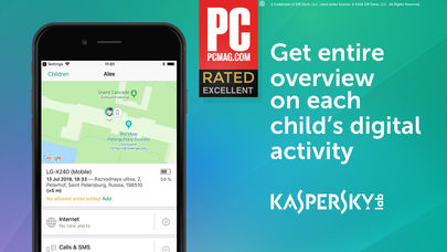 Kaspersky Safe Kids Family GPS App - 1