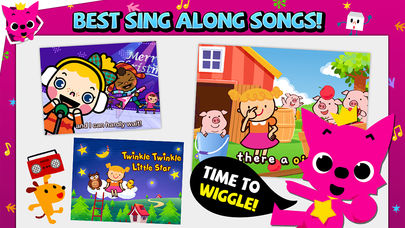 Pinkfong Songs & Stories App - 3
