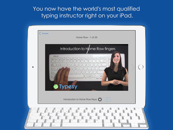 Typesy - Keyboarding Program and Typing Tutor