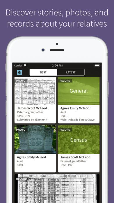 Ancestry App - 2