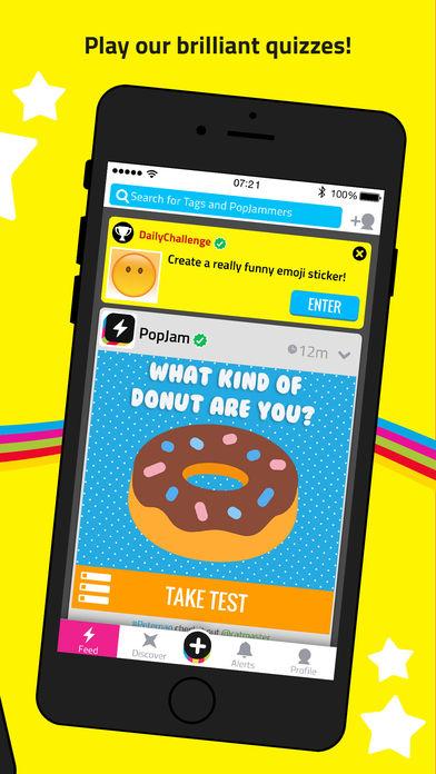 PopJam App - 4