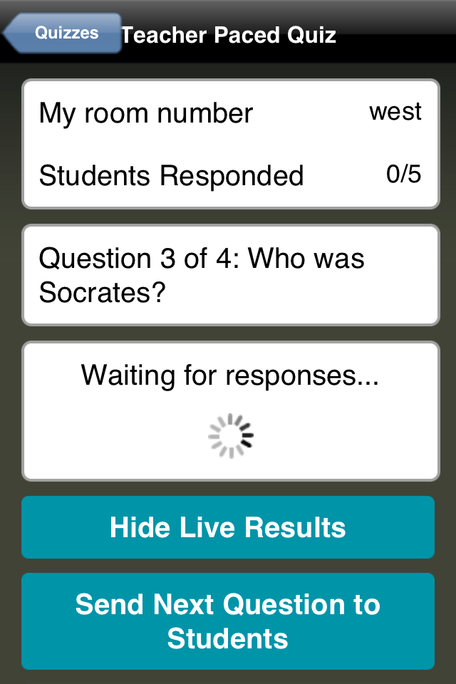 Teacher Clicker - Socrative App - 5