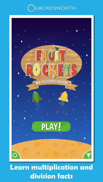 Fruit Rockets Multiplication App - 3