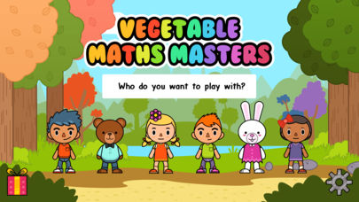 Vegetable Maths Masters App - 1