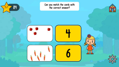 Vegetable Maths Masters App - 3