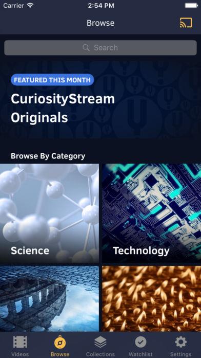 CuriosityStream App - 5