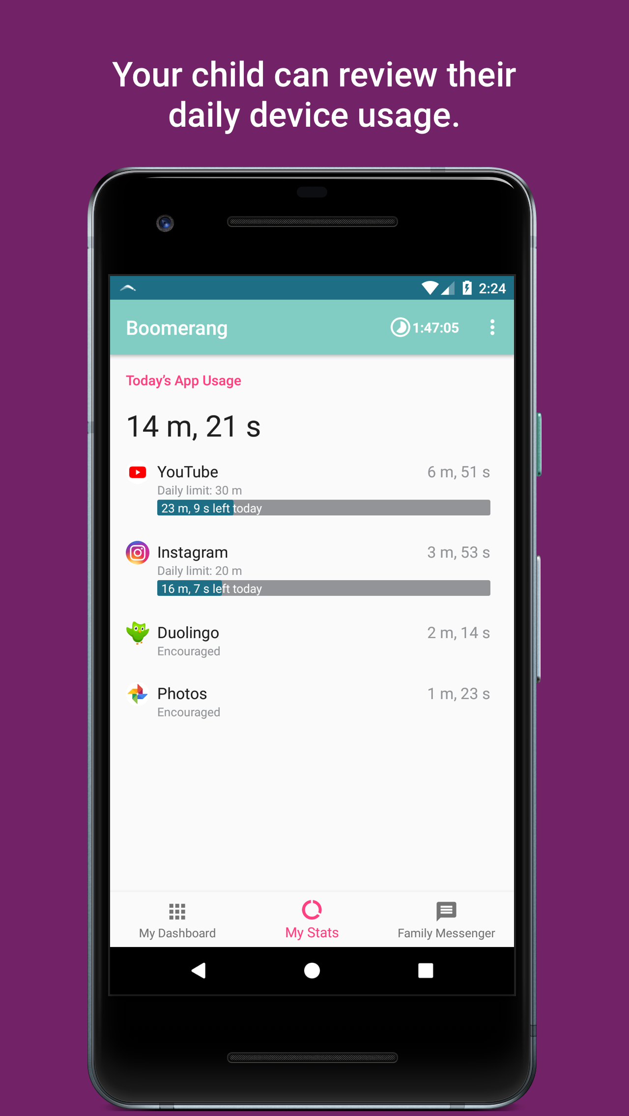 Boomerang Parental Control App - 12