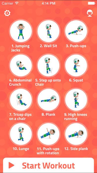 7-Minute Workout for Kids: Make Fitness Fun for Stronger, Healthier Kids Through Interval Training App - 3