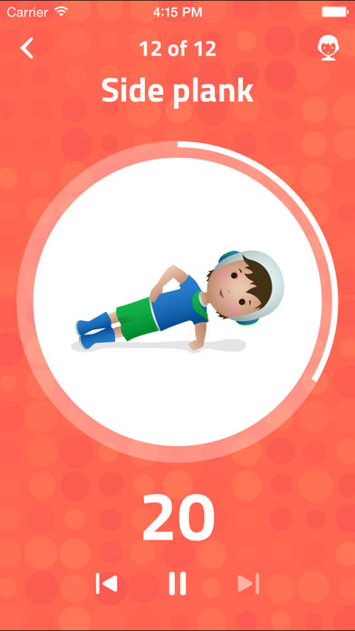 7-Minute Workout for Kids: Make Fitness Fun for Stronger, Healthier Kids Through Interval Training App - 5