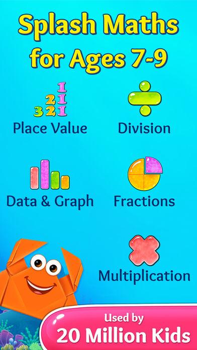 3rd Grade Math Games for Kids App - 1