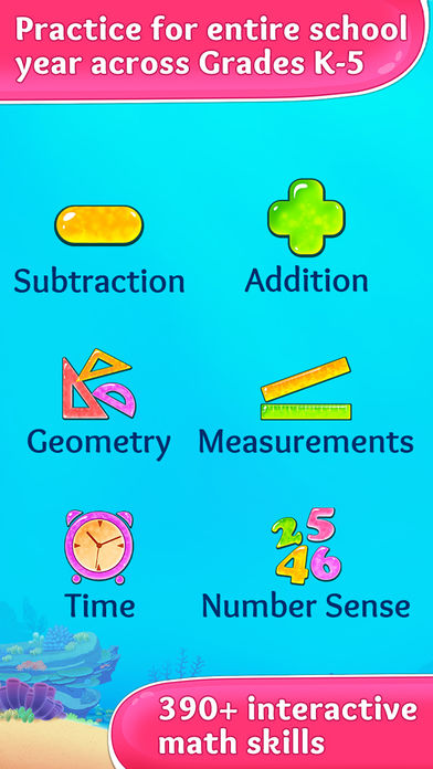 3rd Grade Math Games for Kids App - 2