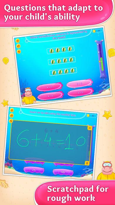 3rd Grade Math Games for Kids App - 3