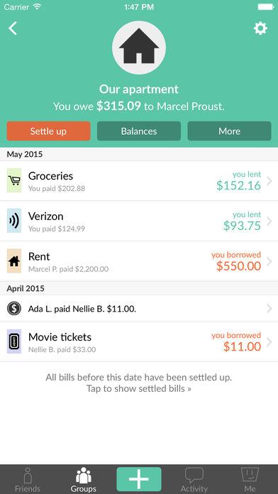 Splitwise App - 2