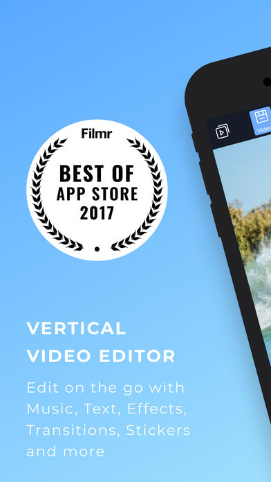 Filmr - movie & video editor App - 1