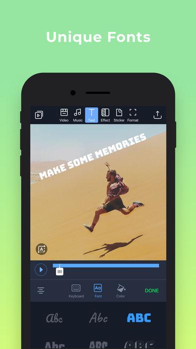 Filmr - movie & video editor App - 4