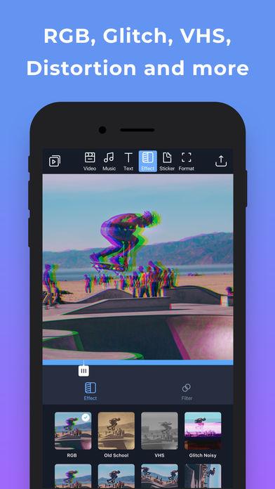 Filmr - movie & video editor App - 5