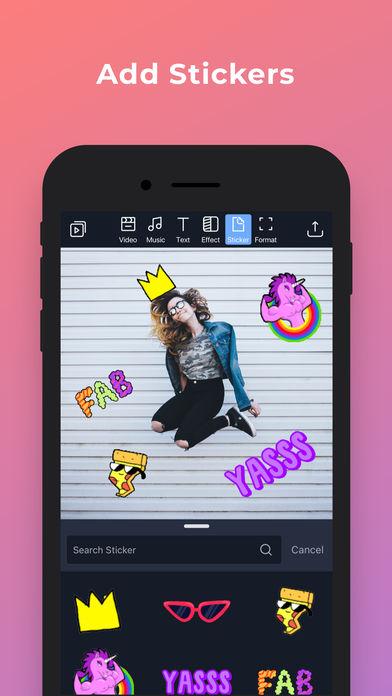 Filmr - movie & video editor App - 7