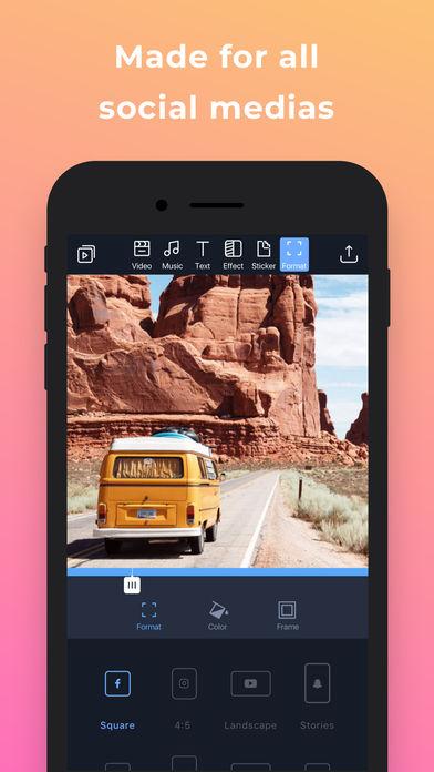 Filmr - movie & video editor App - 8