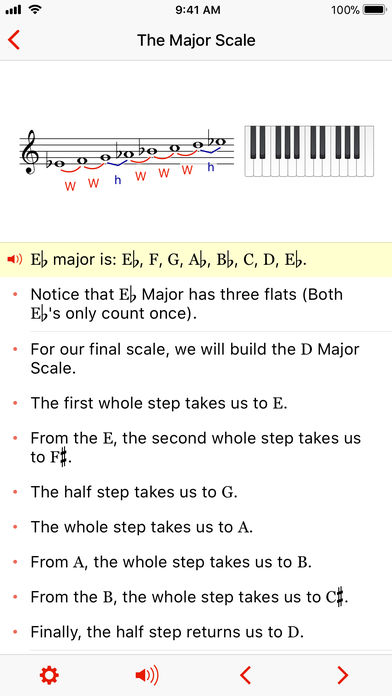 Theory Lessons App - 2