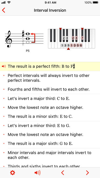 Theory Lessons App - 4