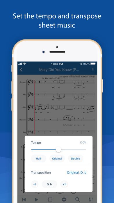 MuseScore: sheet music