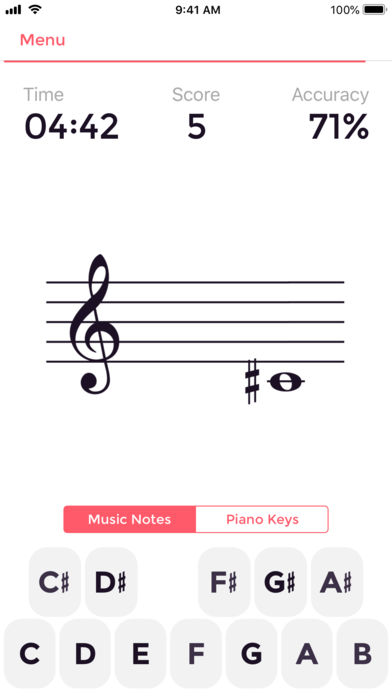Music Tutor (Sight-reading) App - 1