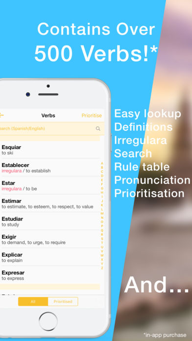 Learn Spanish Verb Conjugation App - 3